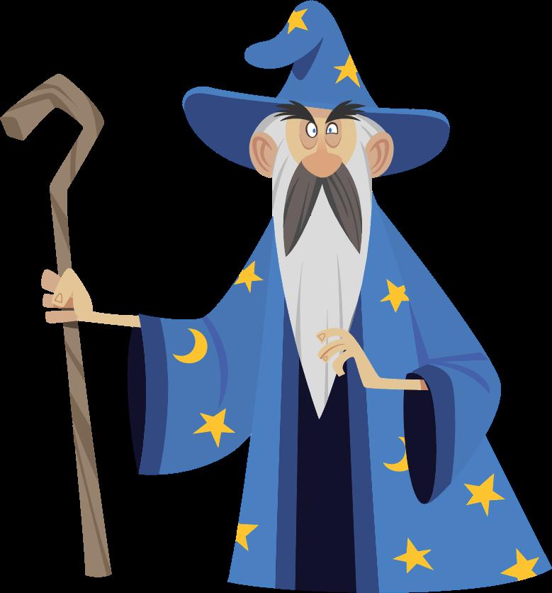 Картинка с волшебником для детей